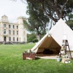SHOOTING inspiration chateau de SERIEGE mon wedding camping