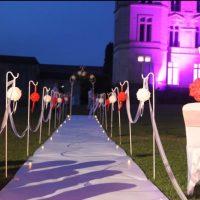 ceremonie chateau de seriege mariage