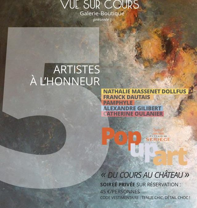 pop up art seriege aude herault